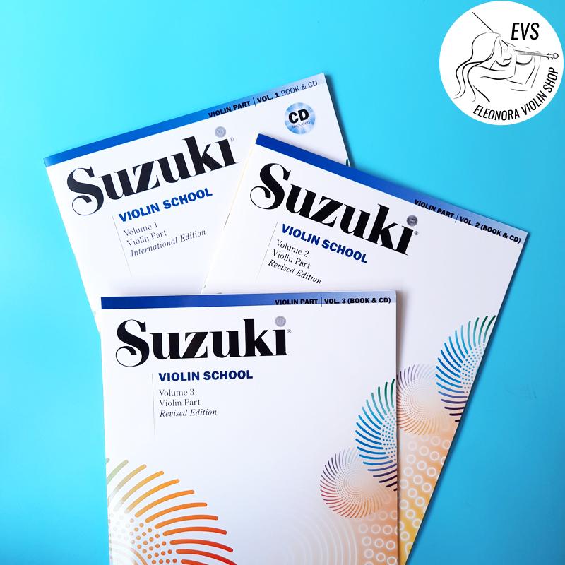 Suzuki Violin Books